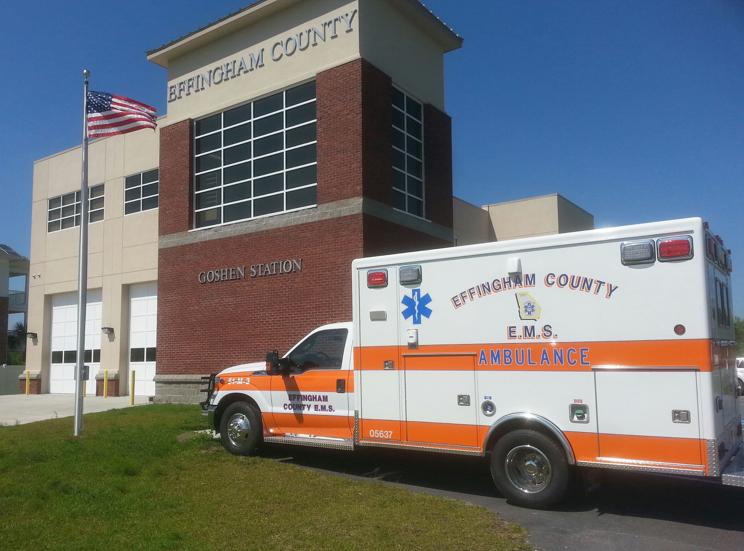 Effingham County EMS Ambulance